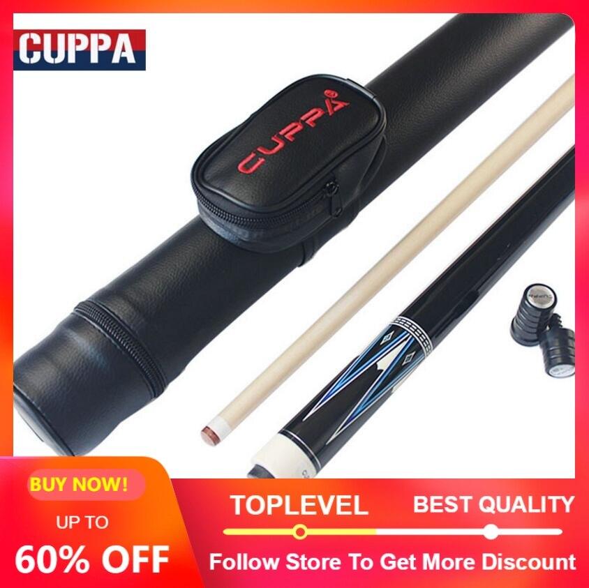 CUPPA Korea 3 Cushion Cue Carom Billiard Stick Kit Cues 13 mm Tip 147cm Length 520g