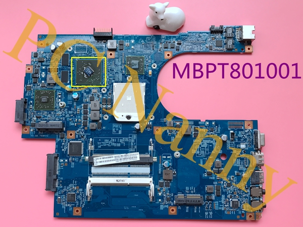 MBPT801001 48.4HP01.011 For Acer Aspire 7551G Motherboard Main Board s1 DDR3 with Ati Graphics Tested