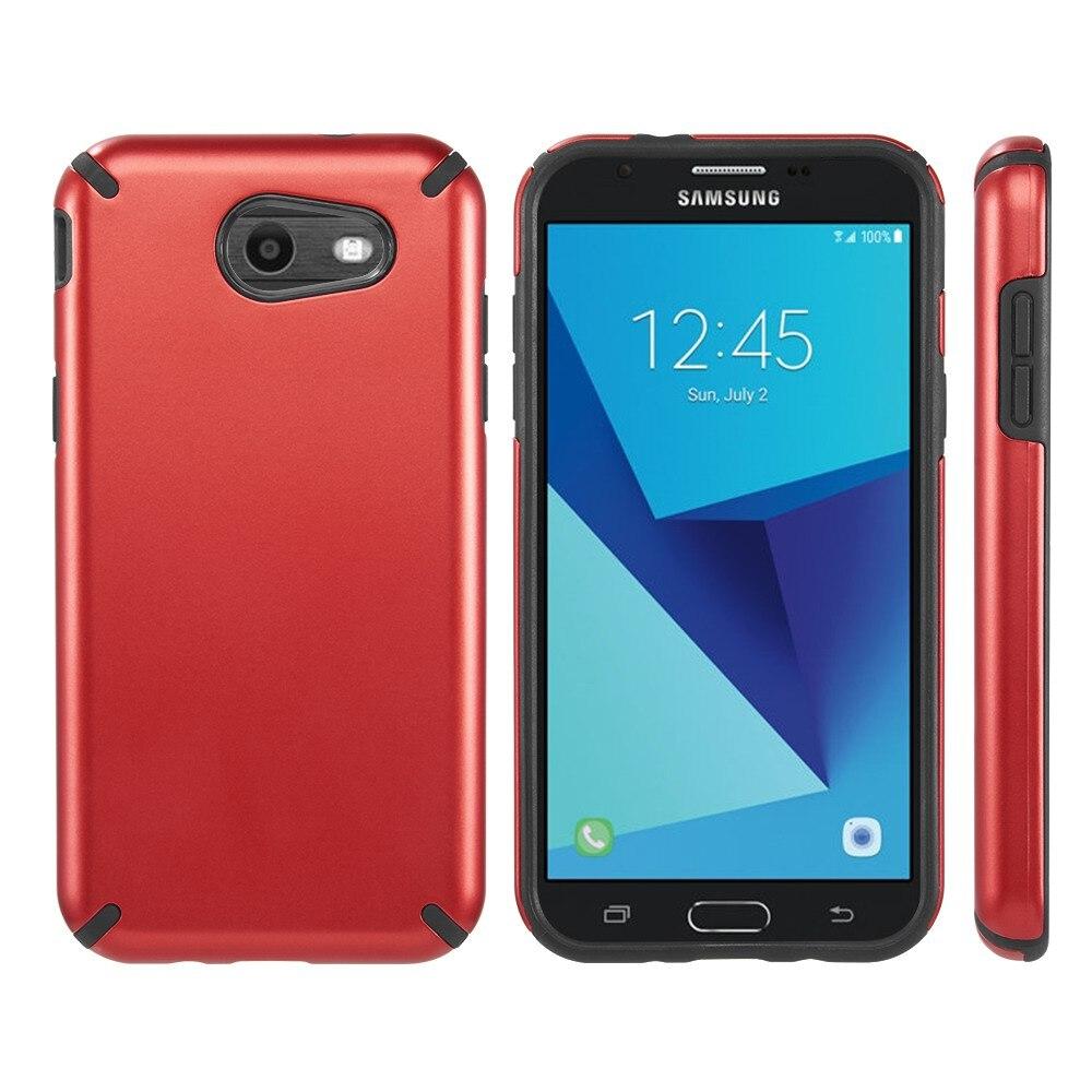 Гибридный жесткий Пластик силиконовый чехол для телефона для samsung Galaxy J3 J7 2017 появляются патруль полная защита чехол для Sam J7 ...