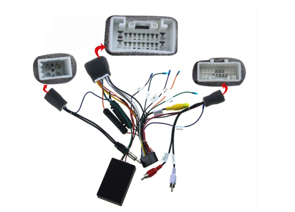 aliexpress buy special wiring harness for toyota prado iso harness car radio power adaptor