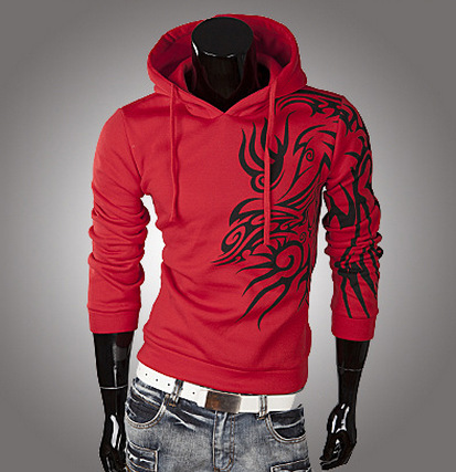 Hoodies Men 2018 Hoody Male Long Sleeve Solid Color Hooded Mens Sweatshirt Mens Hoodie Tracksuit Sweat Coat Casual Sportswear