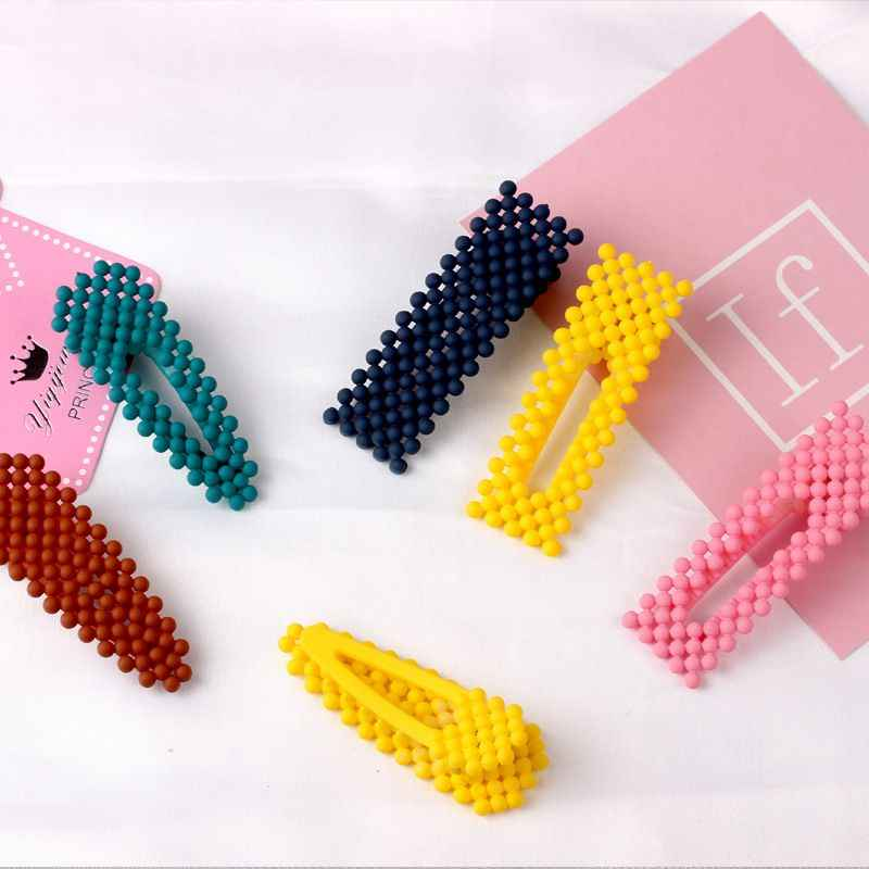 1pcs Fashion Korea Hairpins Beads Hair Clips Barrettes Wedding Hairwear For Women Hair Accessories Hairgrips Styling Tools