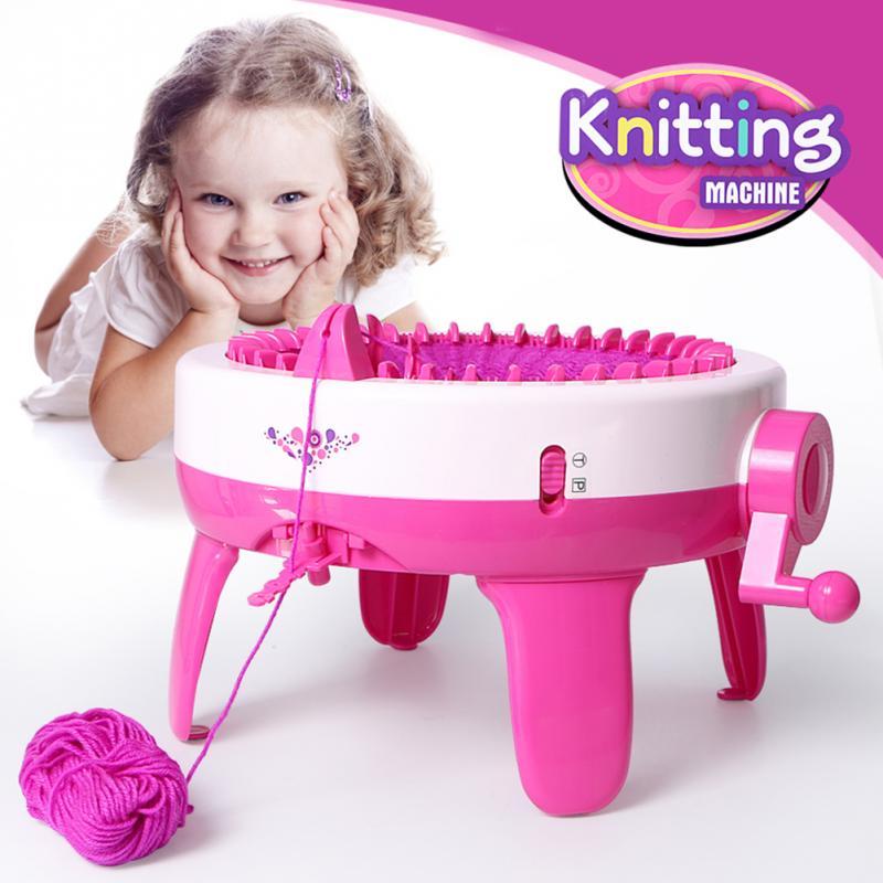 40 игл позиции бытовой большой ручной вязание машины рукоделие ткачество ткацкий станок для Scraf шляпа образования детей обучения игрушка