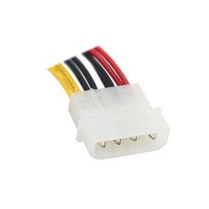 Image 5 - IDE Molex 4 контактный в чехол Вентилятор охлаждения 3 контактный TX3 Multi Fan адаптер питания конвертер кабель с снижением скорости, 2x 5V/2x12V
