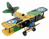 Brand New Plane Model Toys World War I Britain Sopwith Camel Fighter Handmade Metal Airplane Model