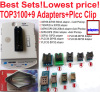 New TOP3100 USB Universal Programmer EPROM MCU PIC AVR 2adapter