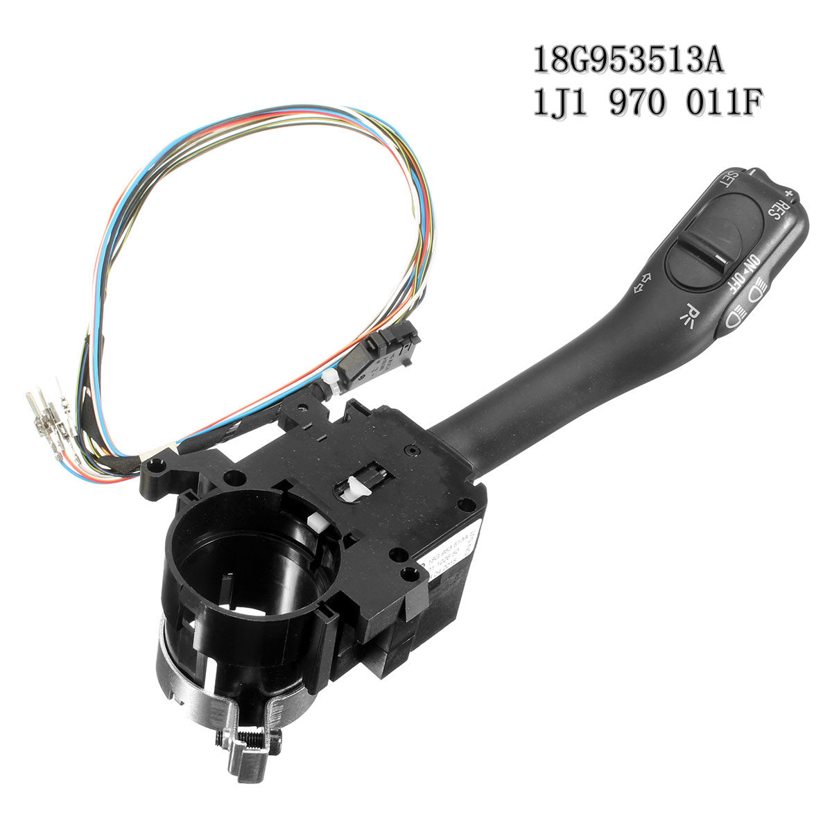 Cruise Control System CCS Stalk Streering Wheel Handle 18G953513A Harness 1J1 970 011F For VW Golf 4 Jetta MK4 IV Bora for vw golf 4 jetta mk4 cruise control system stalk handle steering switch 18g 953 513 a wire harness connector 1j1 970 011 f