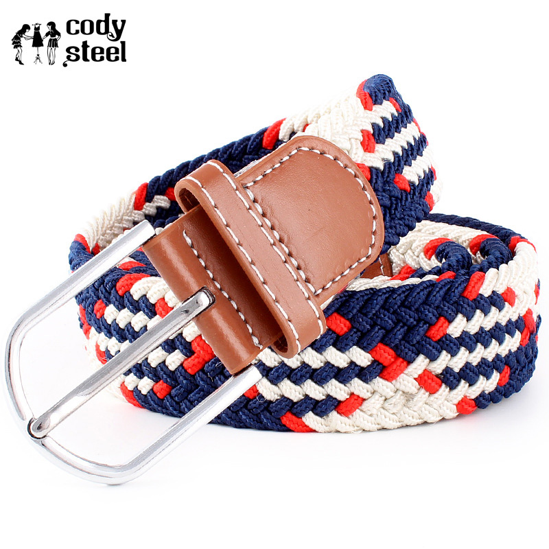 Cody Steel Luxury Women Belts Casual Pins
