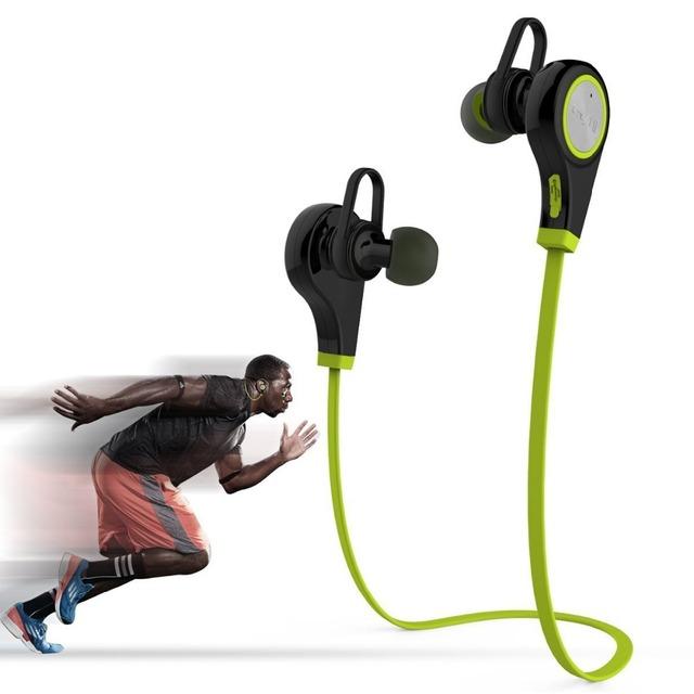Q9 Original Bluetooth 4.0 Fone de Ouvido Estéreo Sem Fio Esportes Sweatproof Fone de Ouvido Estúdio de Música Handsfree Fone De Ouvido para o iphone Samsung