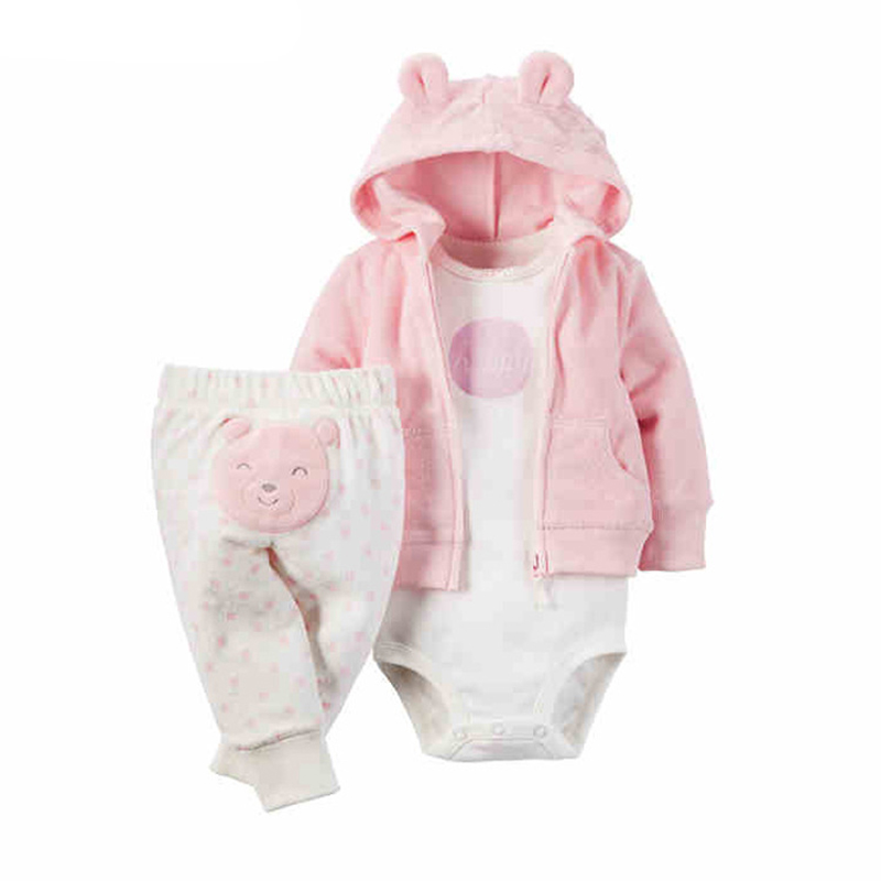 Baby-Boy-Girl-Clothing-set-3-Piece-Bodysuit-Hooded-Long-Sleeve-Outwear-Pants-carter-Cotton-Bebes (7)