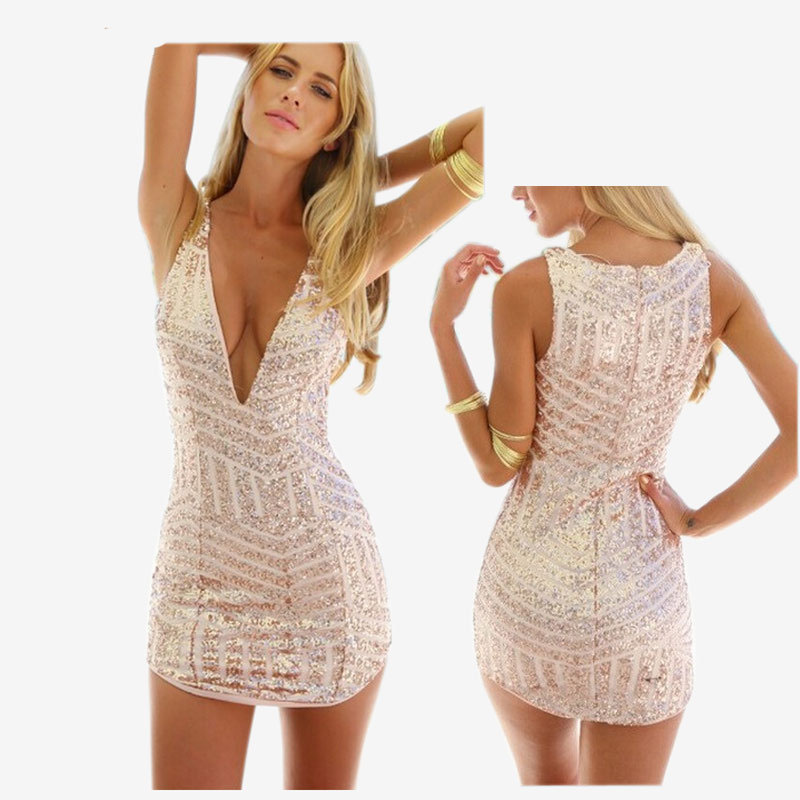 Online Buy Wholesale gold sequin dresses from China gold sequin ...