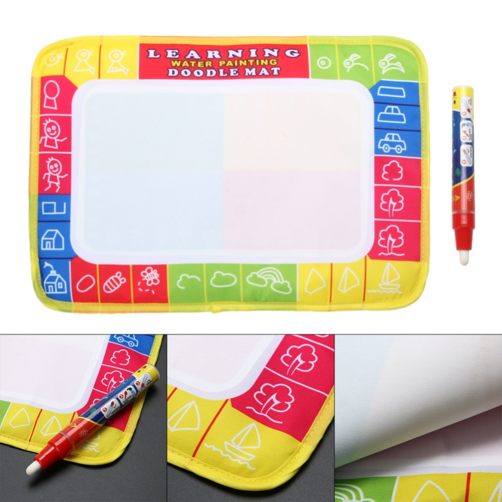 29-x-19cm-Children-Aqua-Doodle-Drawing-Toys-Baby-Kids-Educational-Water-Writing-Painting-Drawing-Toy-Mat-Board-with-Magic-Pen-2