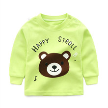 Baby Boys Girls Tops ChildrenLong Sleeve T-shirt