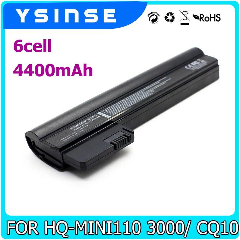 Pour HP Mini 110 110-3000 110-3100 607762-001 607763-001 HSTNN-DB1U WQ001AA 110-3000sb 110-3000sd COMPAQ CQ10-500 Batterie