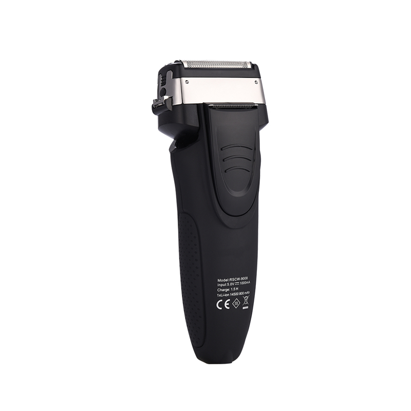 Ckeyin homens barbeador elétrico aparador de barba