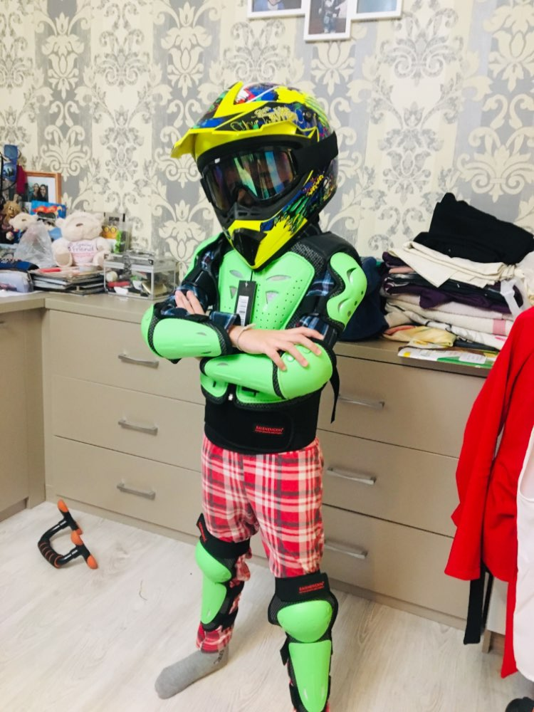 Children's Riding Armor Shatter-resistant Suit Full Set Of Racing Knight Equipment Protective Armor Off-road Motor Protections