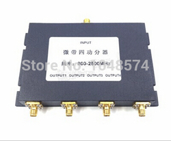 4 Way power Splitter Divider Combiner 800-2500MHz SMA female for Antenna 3G 4G Mobile Phones and Modems