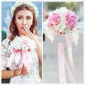 2016 Bouquet De Mariage Artificial Wedding Bouquets For Brides Accessories Handmade  Flowers Bridal Bouquets