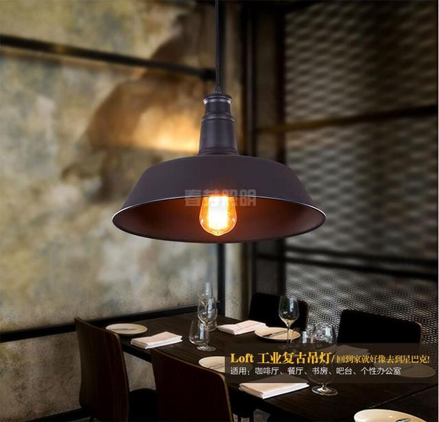 European American Country Retro Style Wrought Iron Chandelier Lampshades Pot Restaurant Lights Aisle Lamps Hotel Bar