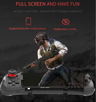 DHL 10pcs/lot MOCUTE-058 GamePad Wireless Bluetooth Controller Joystick Remote Control Gamepad For Phone VR PC TV Gaming Handle