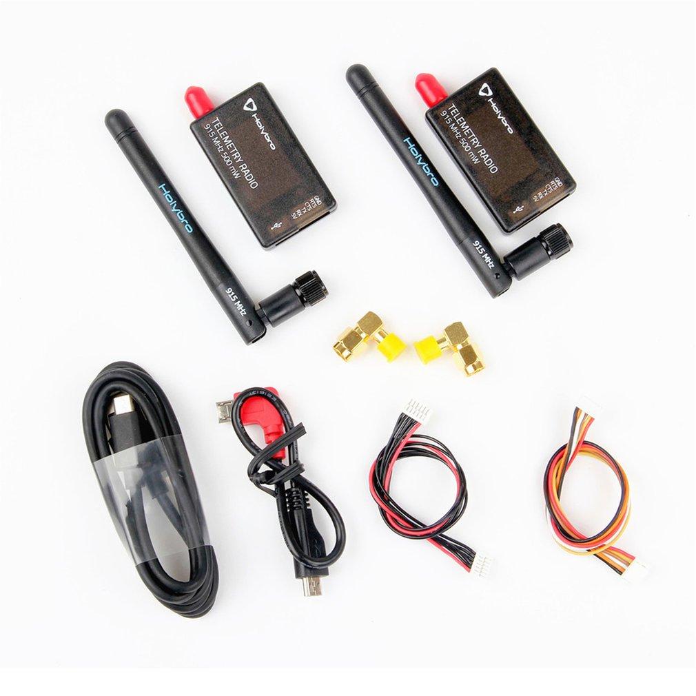 433 Mhz/915 Mhz 500 mW/100 mW émetteur-récepteur Radio FPV télémétrie Set V3 pour PIXHawk 4 contrôleur de vol 117 dBm w/antenne pour Drone RC