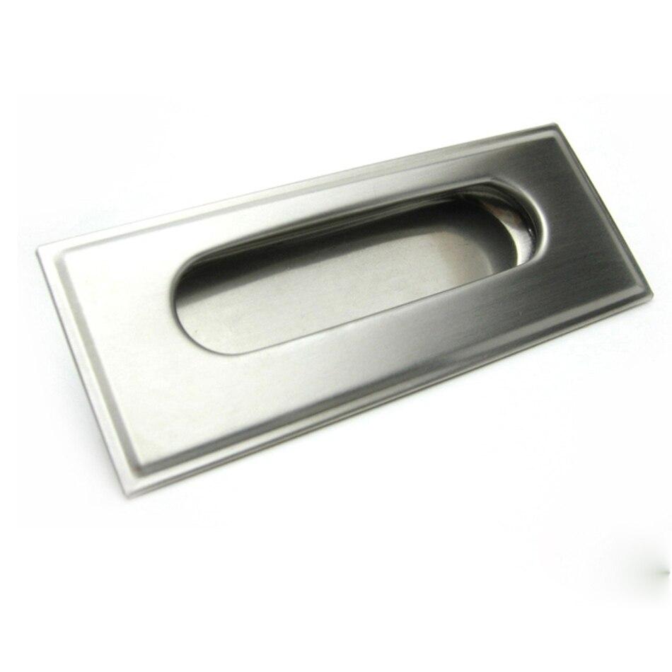 Inset Door Handle Cabinet