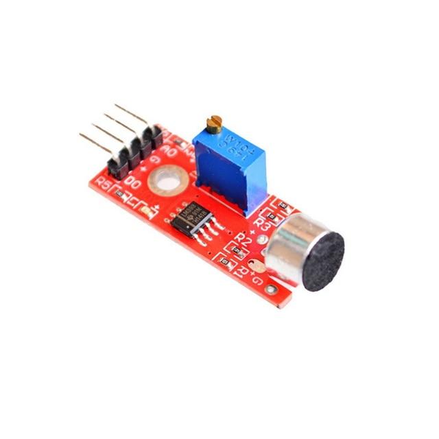 R 2 11 Aliexpress Com Compre A Sensibilidade Do Microfone Sensor De Som Módulo De Detecção Para Arduino Avr Pic Ky 037 De Confiança Microphone