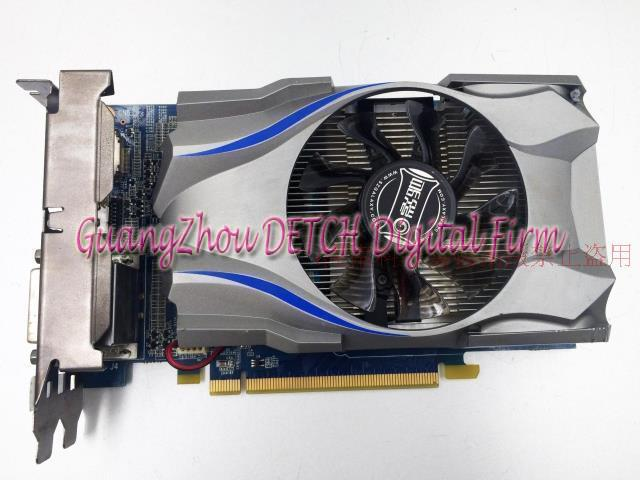 Used GT740 black genuine disassemble the real game graphics 2048MB the new hg10 48d12 and disassemble