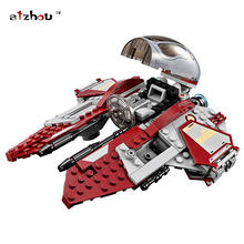 227pcs Bela 05020 New Star Wars Obi Wan's Jedi Interceptor Assembling Building Blocks Gifts Compatible With lego toys