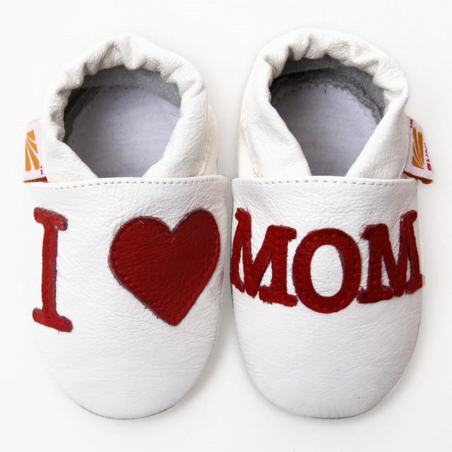 Sapatos de bebê de couro sapatos mocassins de couro de vaca crianças sapatos de criança sapatos