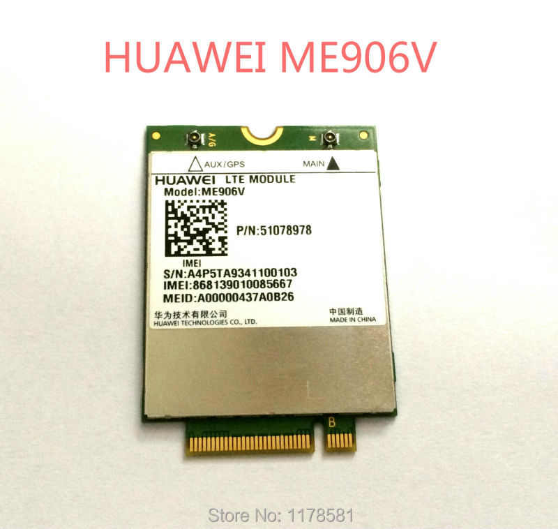 סמארטפון HUAWEI ME906V ME936 ME906E 3 גרם 4 גרם 100 Mbps רשת LTE מודול GPS + WCDMA NGFF מודם lte כרטיס עבור Ultrabook מחשב נייד Tablet
