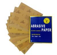 30 Sheets Waterproof Sandpaper 400 600 800 1000 1200 1500 Grit Sandpaper Skin Abrasion Polished Paper