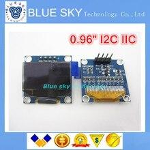 Бесплатная Доставка 10 Шт. белый 128X64 OLED LCD 0.96 «I2C IIC SPI Серийный новый оригинальный