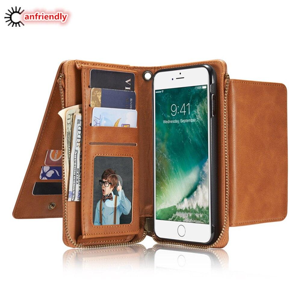 Ritsleting Kasus Untuk Coque Samsung Galaxy S8 S7 S6 Tepi Ditambah S - Aksesori dan suku cadang ponsel - Foto 1
