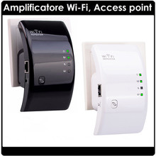 Wireless Wi-fi Expander WiFi Repeater 300Mbps Range Signal Boosters Network Amplifier 802.11n/b/g wifi Extender For Home