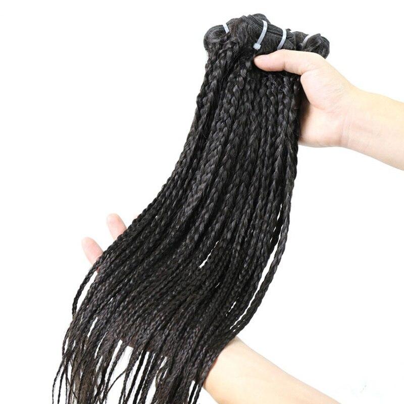 virgin malaysian braided human