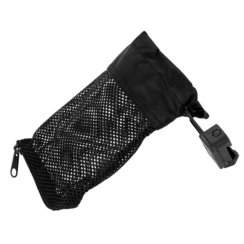 Hunting Accessories Military Gear AR-15 Ammo Brass Shell Catcher Mesh Trap Nylon Mesh Bag Capture Black. 223 / 5.56