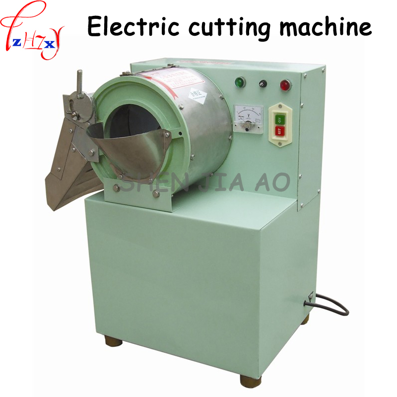 Commercial electric cutting machine restaurant box type small multi-purpose slicer/dicing machine/cutting machine 220V 1500W 1pc commercial lemon slicer machine professional fruit slicer machine electric orange slicer automatic fruit cutting machine 220v1pc