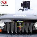 Peças de reposição para jeep wrangler grade dianteira Do compartimento Do Motor capô tampa anti Roubo bloqueio com chaves
