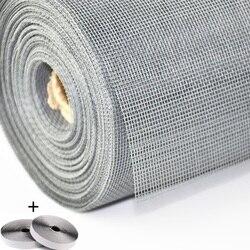 Malha líquida da tela do mosquito da mosca nano para a janela, protege o bebê & a família do inseto e do bug, malha customizável da tela da janela de diy