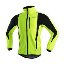 ARSUXEO Мужская велосипедная Куртка зимняя теплая велосипедная одежда ветрозащитная мягкая оболочка спортивная куртка MTB велосипедная Джерси