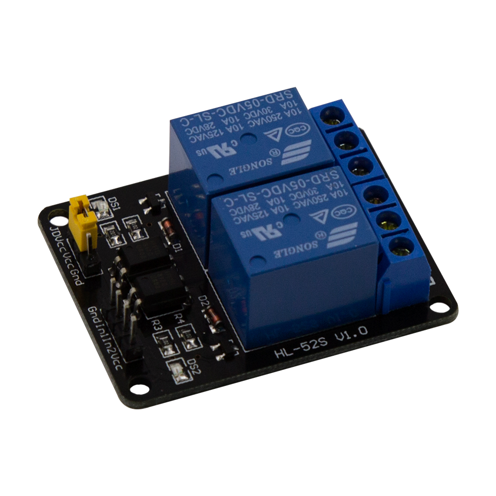 1PCS 5V 2 Channel Relay Module Shield for Arduino ARM PIC AVR DSP Electronic