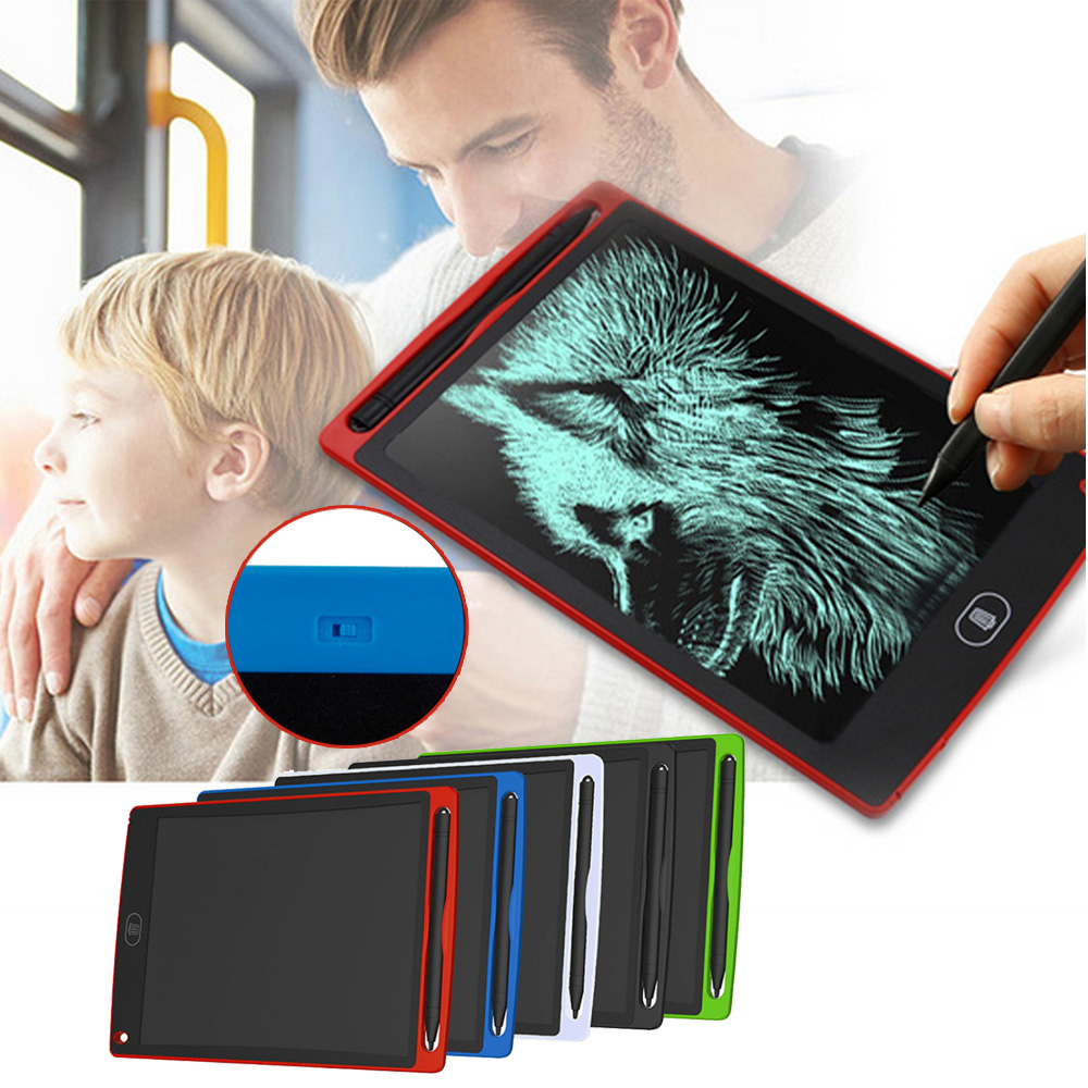 8.5 Inch/12 Inch LCD Writing Board Kids Tablet Erase Ultrathin E-Writer Tablet Electronic Paperless Handwriting Pads Drawing Toy