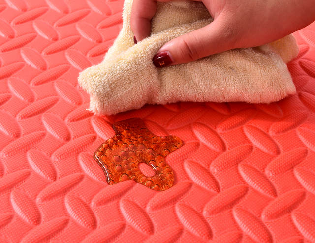 Foam Tegels Baby : Online shop cm baby jigsaw puzzle mats leaf pattern floor