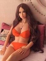 Новинка 2017 165 см высокий японский металлического каркаса твердых реальный полный силиконовые секс куклы взрослых любовь кукла с парик реал