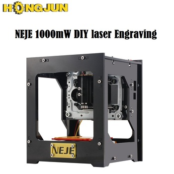 NEJE 1000mW mini DIY laser Engraving Machine laser cutter USB Laser Engraver Automatic Operation with Protective Glasses