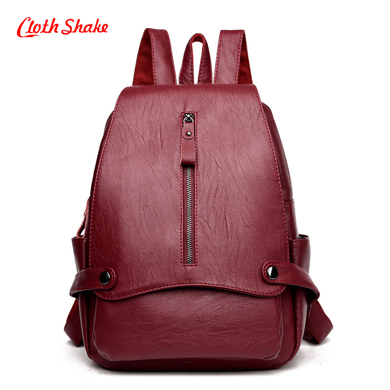 Women Backpack Microfiber Synthetic Leather Mochila Escolar School Bags For Teenagers Girls Top-handle Backpacks Herald Fashion 2017 new fashion women bag backpack pu leather mochila escolar school bags teenagers girls top handle backpacks herald female