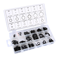 225pcs O Ring Seal Kit Garage Tools Transmission Kits Parts Rubber Seal Assortment Set Kit Auto Replacement Parts