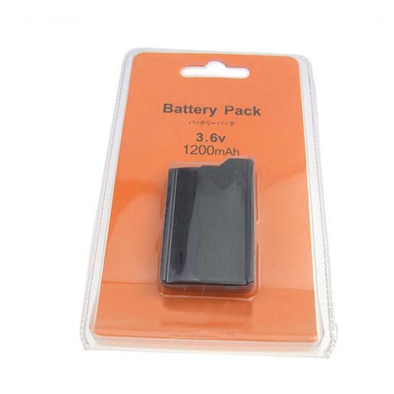 3.6 V 1200 mAh Rechargeable Batterie Power Pack Remplacement Pour Sony PlayStation Portable PSP 2000 2008 3000 3008 Mince Jeu Console