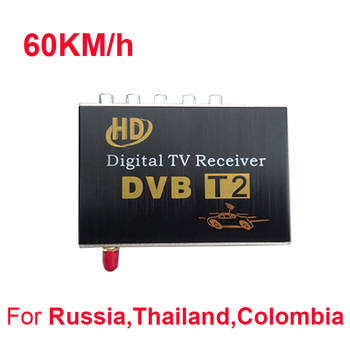 car TV receiver DVB-t2 USB DVB-T2 Android TV Tuner Car Digital Europe with Unique Antenna for Russian 1